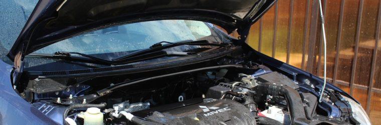 silnik auta do remontu